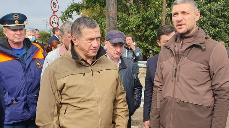 Trutnev checked the progress of recovery after the flood of the city in Transbaikalia