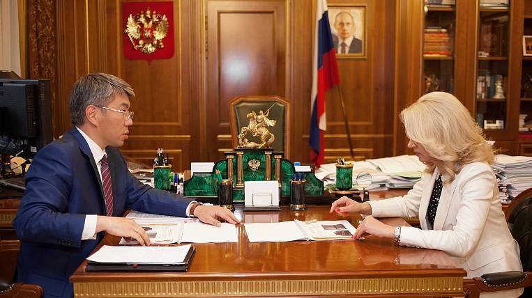 The head of Buryatia asks for money for schools and kindergartens