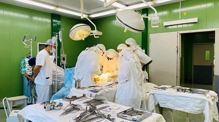 Transplant surgery was first performed in Buryatia
