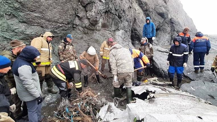 IAC specialists arrived at the crash site of An-26 in Kamchatka