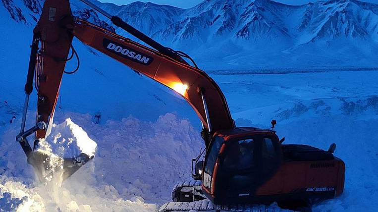 Snowboarder search operation completed in Chukotka