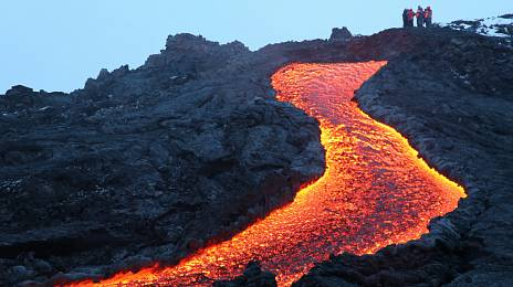 Paul is lava: to see the volcano and not regret it