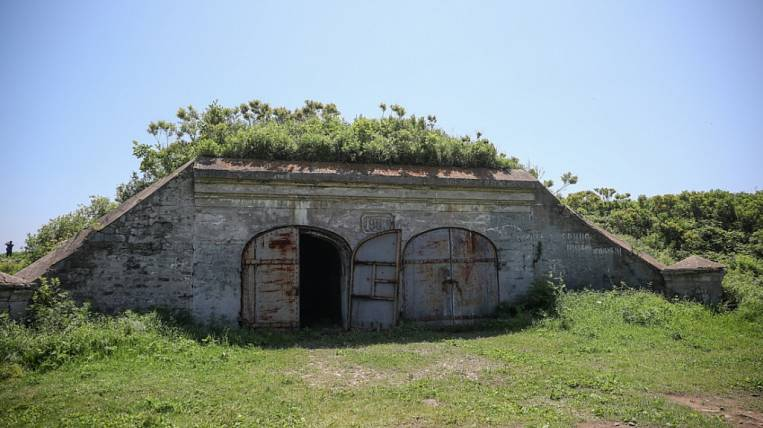 Fort Pospelov in Vladivostok will update to the WEF