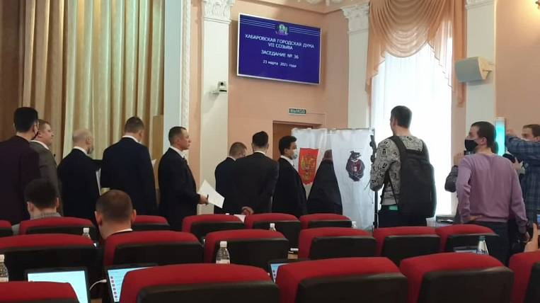 Chairman of the City Duma of Khabarovsk dismissed from office