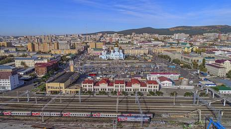 Transbaikalia will increase the railway