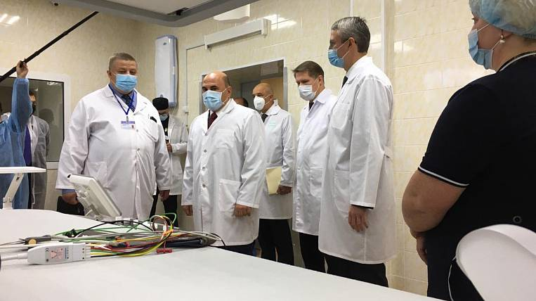 Mishustin will take control of the construction of a hospital in Kamchatka
