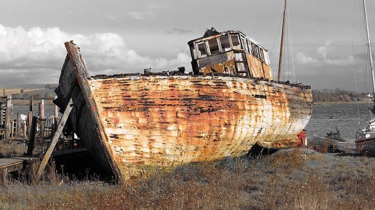 In Kolyma, Nagaev's Bay is going to be cleared of sunken ships