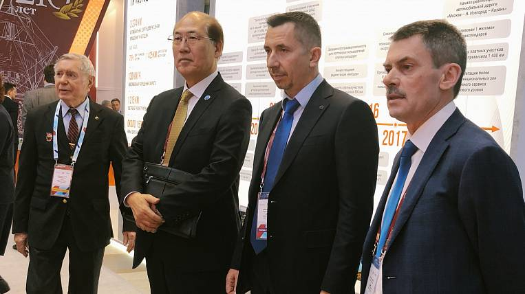 """The export potential of the """"East Port"""" noted in Moscow"""