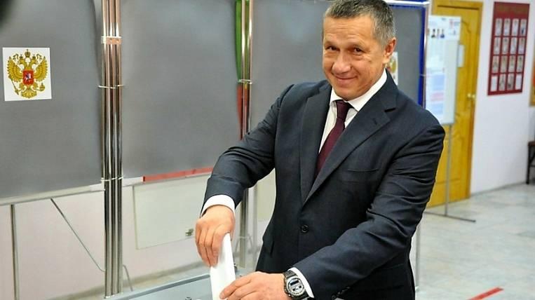 Presidential Plenipotentiary Yuri Trutnev voted in Transbaikalia