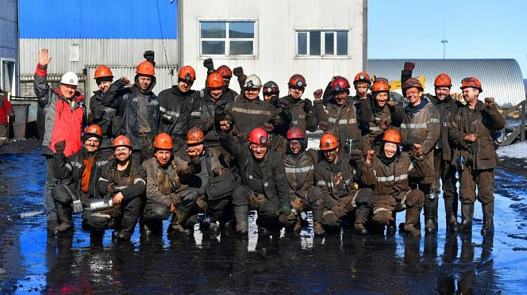 The first million tons of coal was mined at the Denisovskaya mine in Yakutia