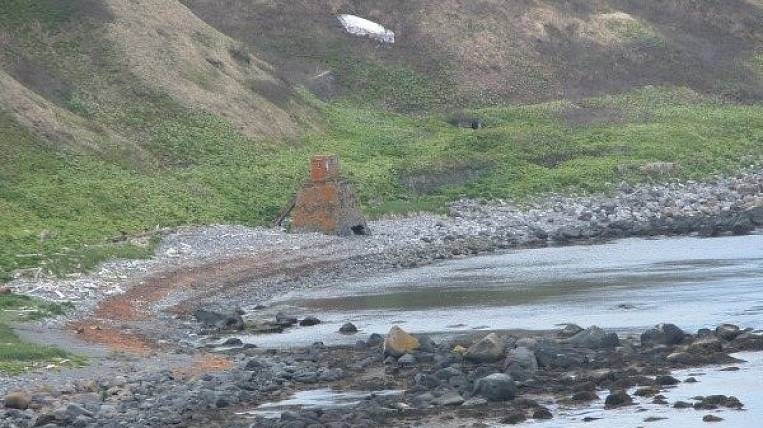 Expedition of the Ministry of Defense of the Russian Federation and the Russian Geographical Society on the Kuril island of Matua found a Japanese pumping station during the war