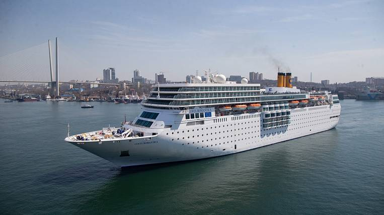 Costa Neoromantica cruise ship not allowed to port of Vladivostok