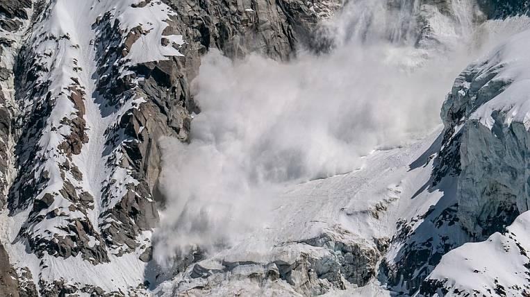 Avalanche hazard declared in Kamchatka