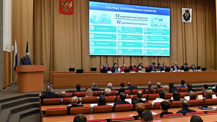 The record amount will be directed to the implementation of national projects in the Khabarovsk Territory