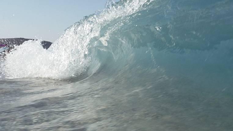 Tsunami wave hit Severo-Kurilsk