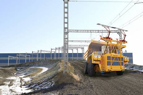 BELAZ and VGK started testing an electric dump truck