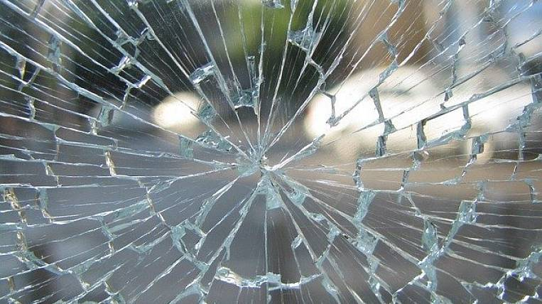 Children injured in an accident involving a traffic police in Khabarovsk