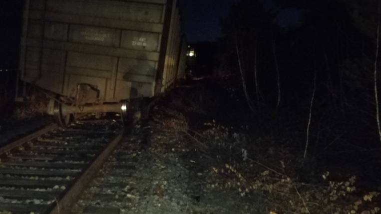 12 wagons rolled off the rails in Transbaikalia