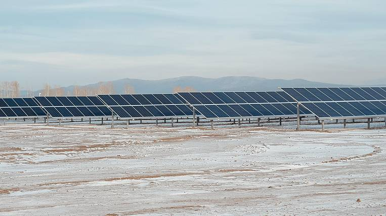 The fifth solar power station commissioned in Buryatia