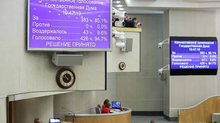 State Duma and Federation Council approved amendments to the Constitution