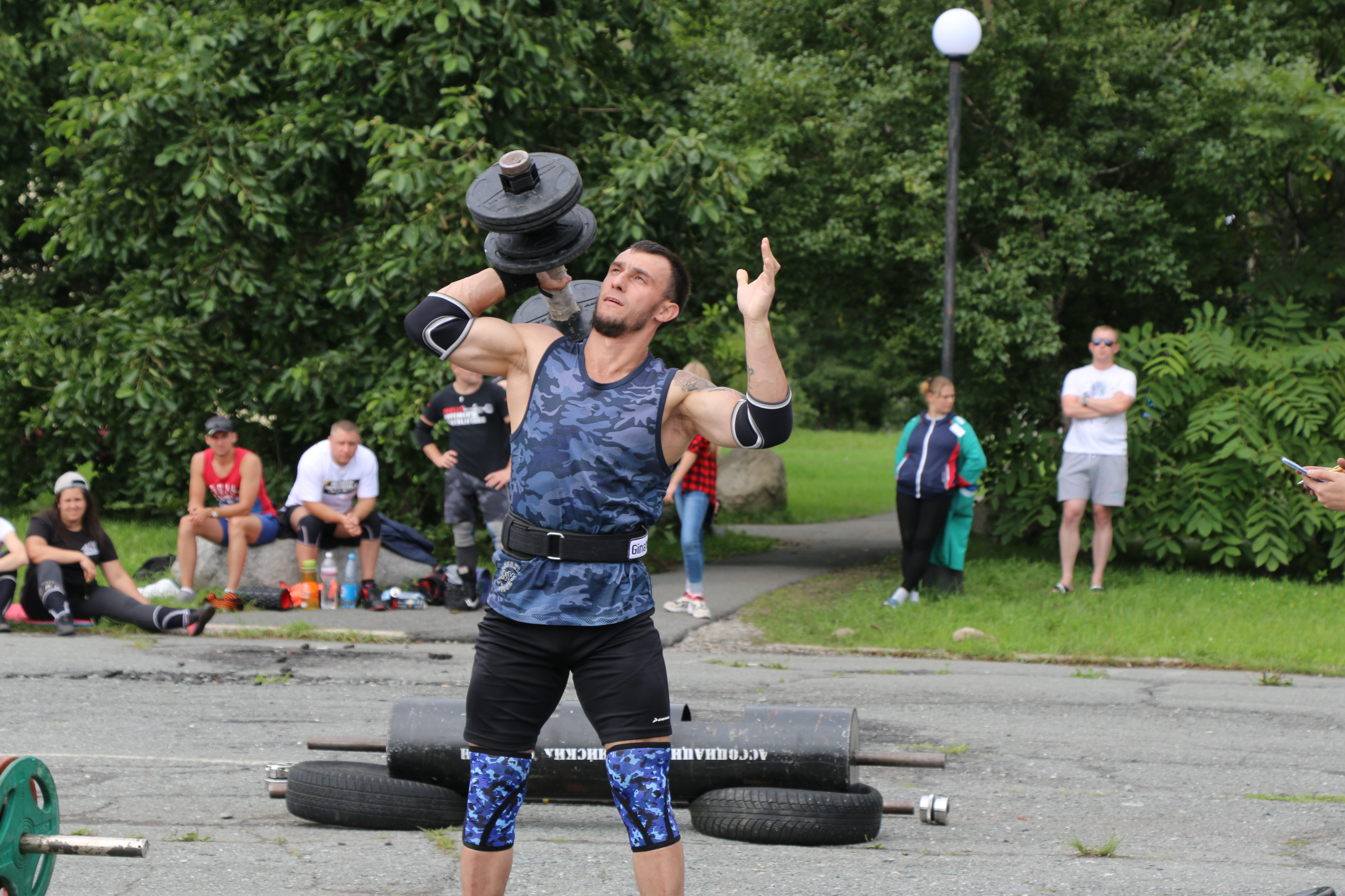 "The festival ""Far Eastern strongmen"" was held in the seaside Wrangel"