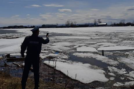 The water level on the Amur in the Khabarovsk Territory is approaching a dangerous phenomenon