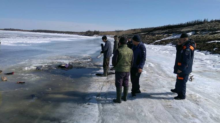 A child died while fishing in Yakutia