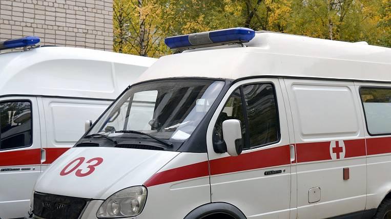Passenger bus overturned in Khabarovsk Territory