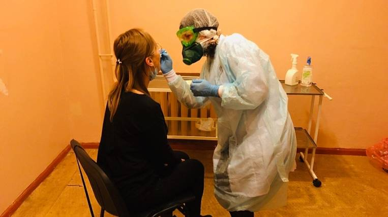 Additional beds for patients COVID-19 create in Transbaikalia
