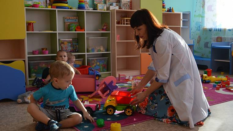 Three new kindergartens opened in the Amur Region on a national project