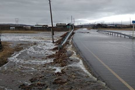 Emergency mode may be introduced in Transbaikalia due to flooding of roads