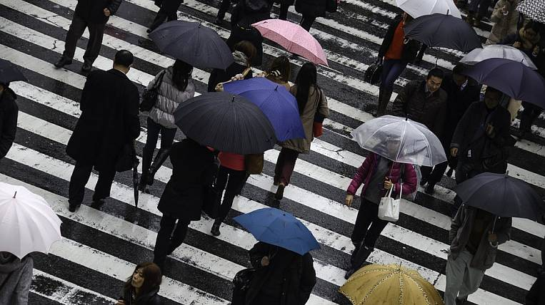 Rains in Primorye will linger until the weekend