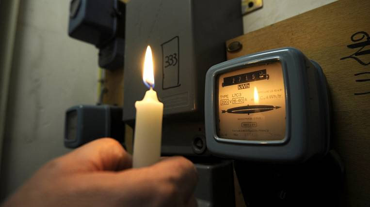 Siloviki in the Far East is shining with darkness - agencies have debts for electricity