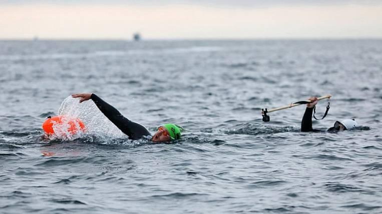 The swim from Vladivostok to Kaliningrad starts at the weekend