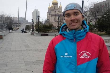 The race from St. Petersburg to Vladivostok was completed by the marathon runner