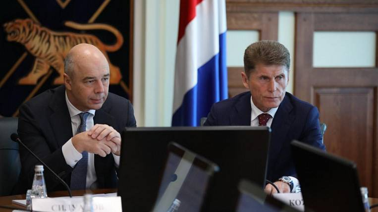 Siluanov checked the implementation of concessional lending to SMEs in Primorye