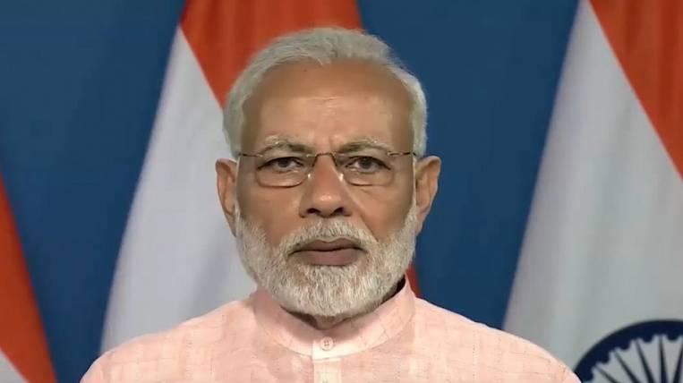 Indian Prime Minister advises quarantine yoga