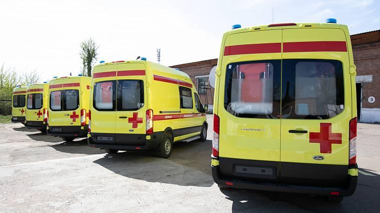 New ambulances received Buryatia
