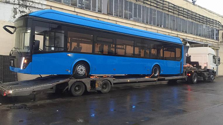 Vladivostok will receive two electric buses from the Moscow region