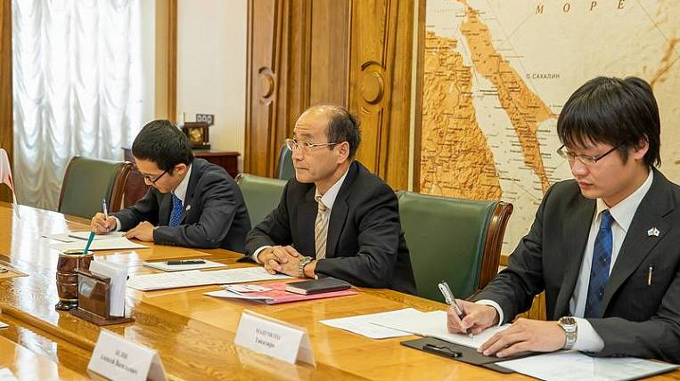 Sakhalin intends to expand cooperation with Japan