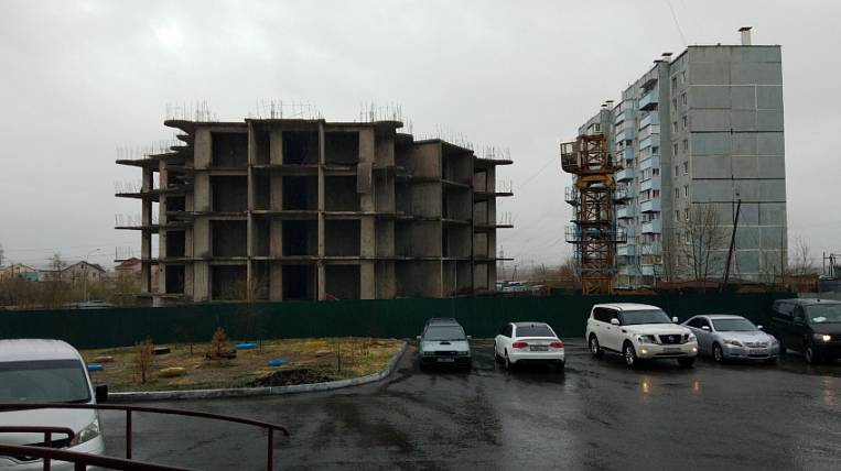Some of the unfinished buildings were excluded from the list of problematic objects in Chita
