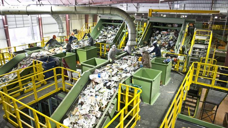 Garbage sorting plant will be built in the Khabarovsk Territory