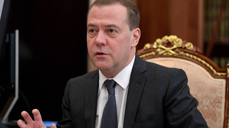 Medvedev said when they introduce a four-day working week