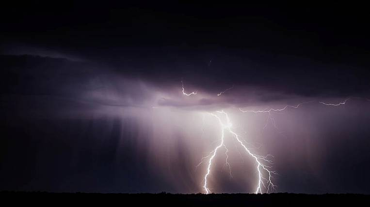 Storm warning announced in Buryatia
