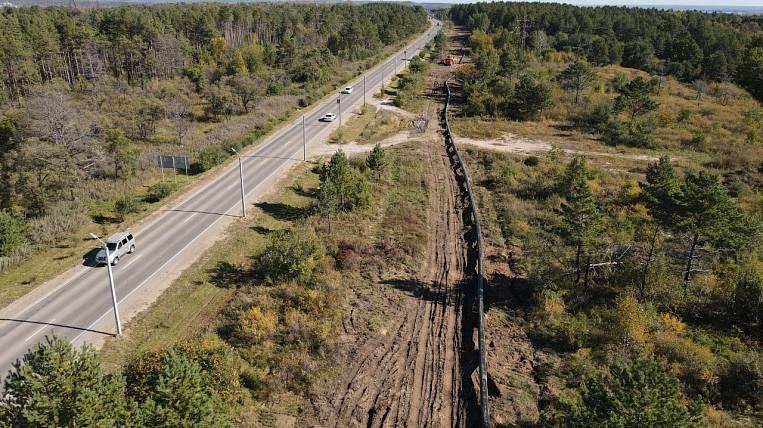 Gas pipeline construction began in the Amur Region