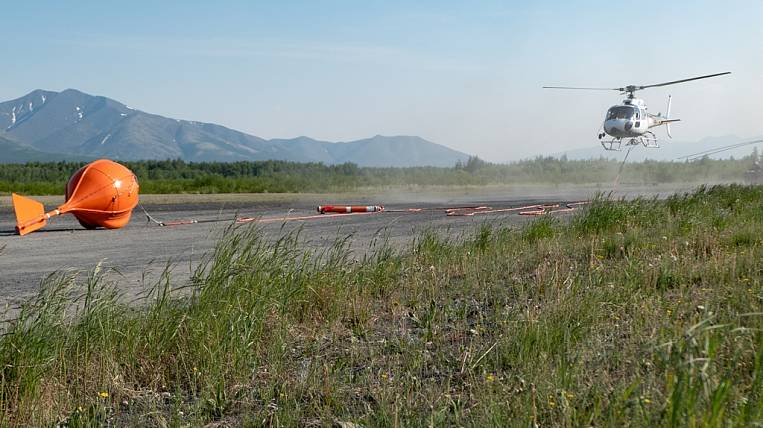 Aero-geophysical survey of the Dukat field is carried out by Polymetal