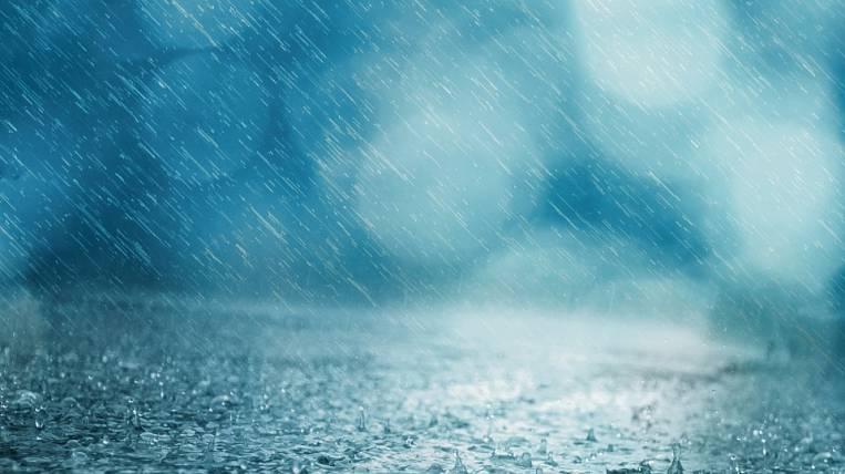 Heavy rains fall on Magadan