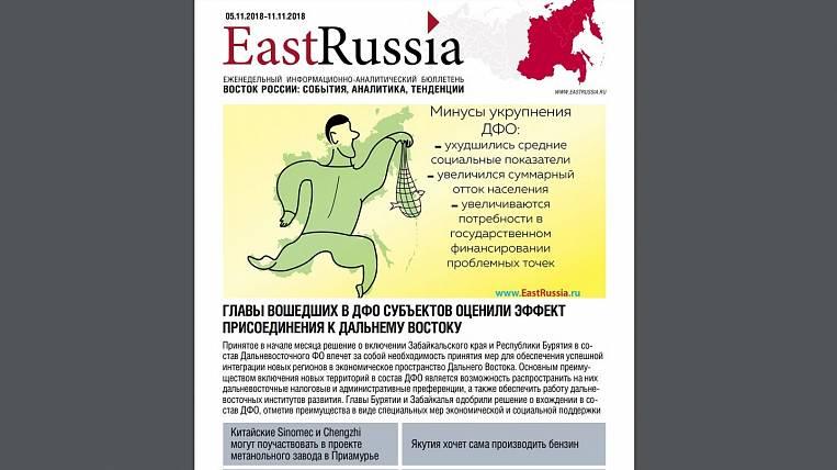EastRussia Bulletin: a small refinery will be restarted in the Irkutsk region