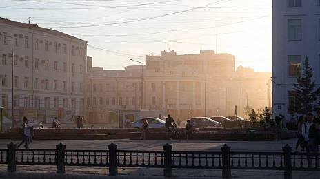 Yakutsk does not believe in tears