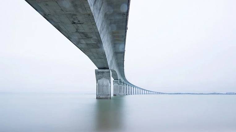 Rosavtodor praised the Lensky Bridge construction project